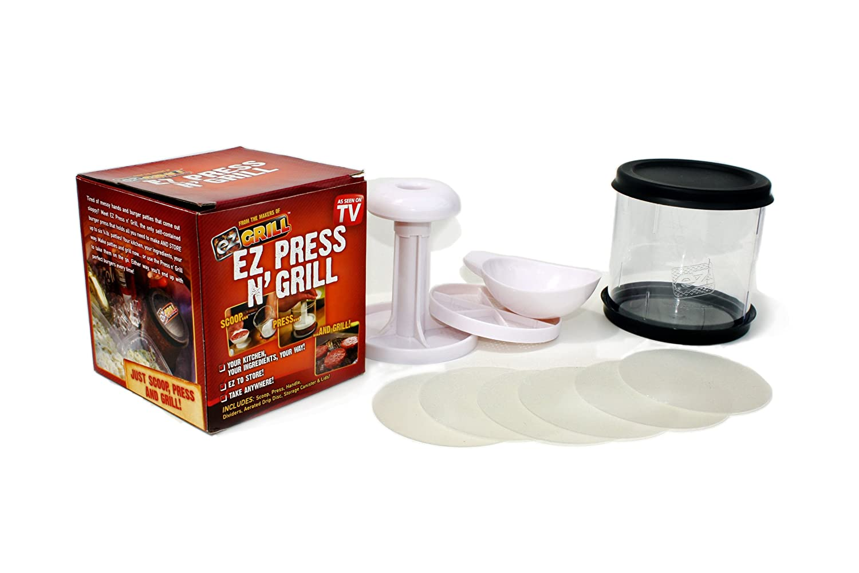 EZ-GRILL Press-n-Grill Frikadellenformer / Burgerpresse bestellen