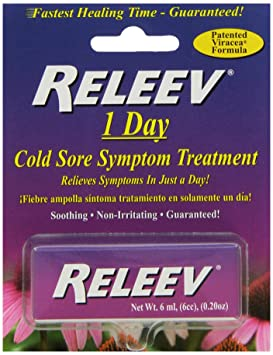Cold sore medicine releev
