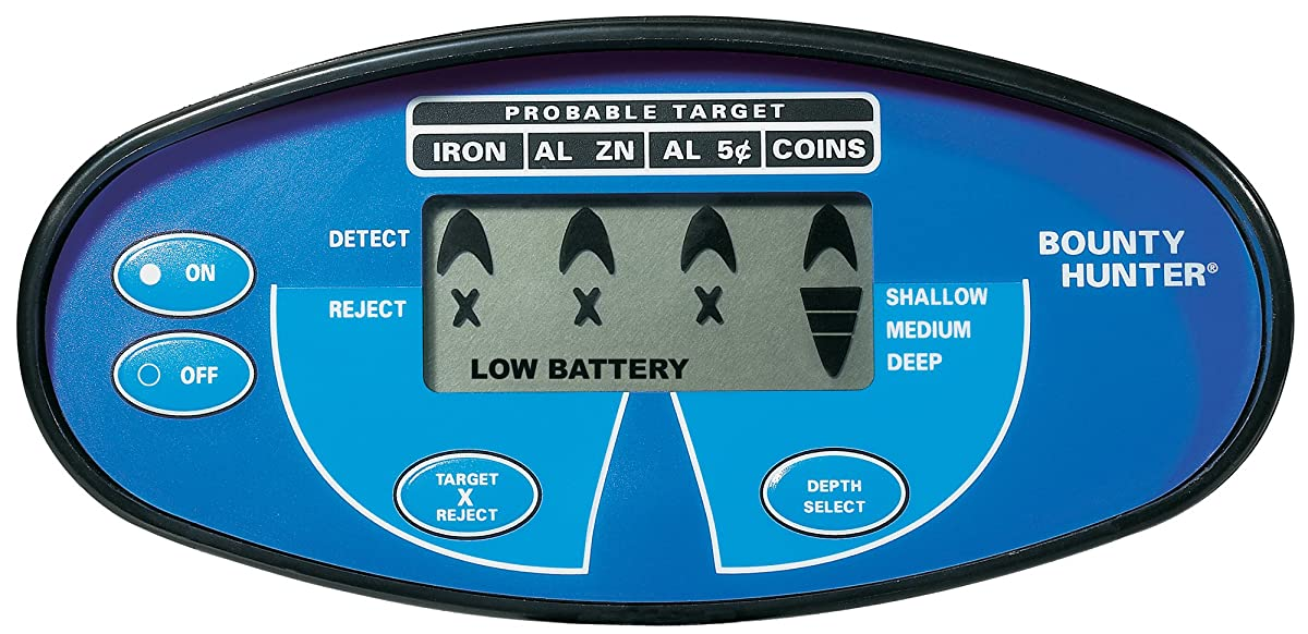 Bounty Hunter QSI Quick Silver Metal Detector