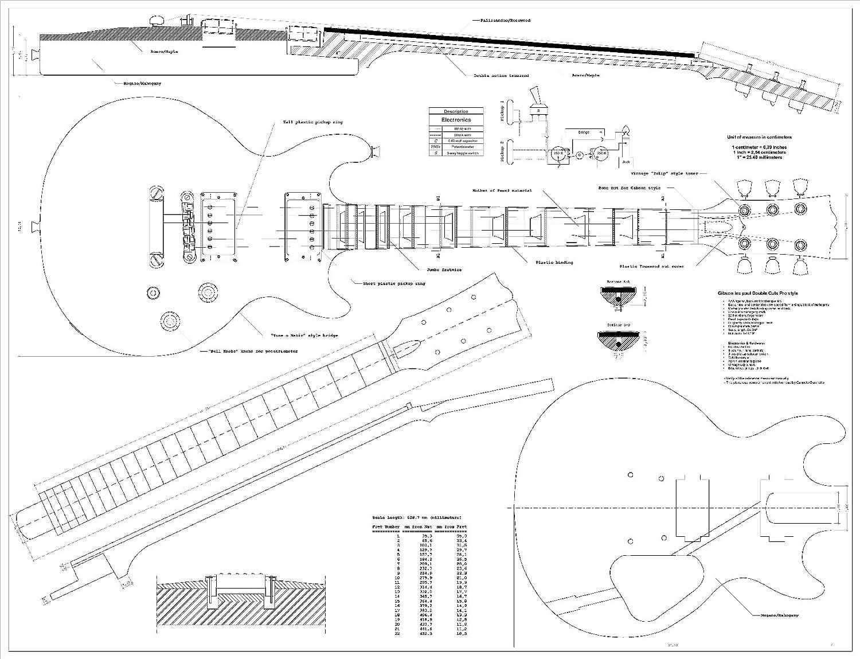 prepared guitar building a les paul guitar. Black Bedroom Furniture Sets. Home Design Ideas