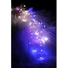 "Fortune Products FFL-91W Fantasia Fairy 91 LED Light, 190"" Length, White"