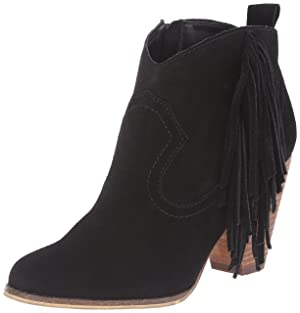 Steve Madden Women's Ohio Boot, Black Suede, 6 M US