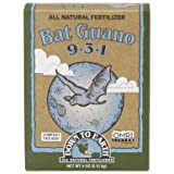 Down to Earth 17886 9-3-1 Bat Guano Fertilizer Mix, 1/4 lb (Tamaño: 1/4 lb)