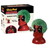 Chia Pet Deadpool Marvel, Decorative Pottery Planter, Easy to Do and Fun to Grow, Novelty Gift, Perfect for Any Occasion (Color: Terra Cotta, Tamaño: One Size)
