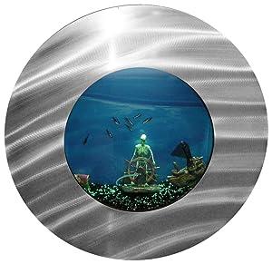 Bayshore Aquarium Small Round Porthole Wall Aquarium