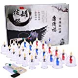 Cupping Therapy Sets, DEFUNX Vacuum Suction 24 Cups Sets with Vacuum Pump Magnets for Cellulite Cupping Massage, Chinese Cupping Therapy Pump Hijama