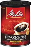 Melitta 100% Colombian Medium Roast Ground Coffee, 11-Ounce Cans (Pack of 4)