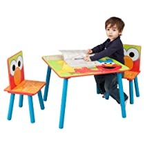 Sesame Street Table & Chairs