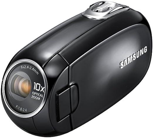 "Samsung SMX-C20 Caméscope Full HD progressif 1080p / Zoom optique 8x / Ecran LCD 6,85 cm (2,7"") Noir (Import Allemagne)"