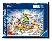 Disney Christmas Eve Jigsaw Puzzle 1000 Pieces