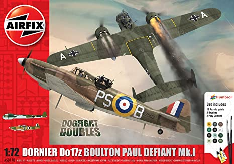Airfix - Ai50170 - Maquette D'aviation - Dogfight - Double Défiant/dornier