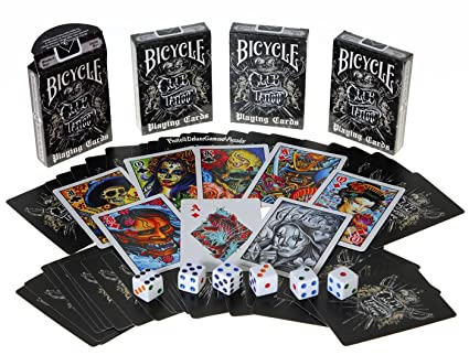 Bicycle Club Tattoo Deck Playing Cards Club Tattoo Bicycle Playing