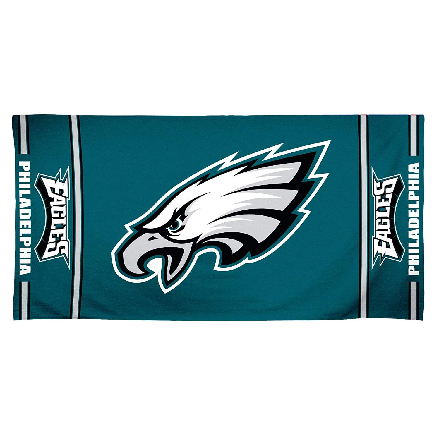 NFL Philadelphia Eagles 30 by 60 Fiber Reactive Beach Towel комплект полутораспальный amore mio bz hague