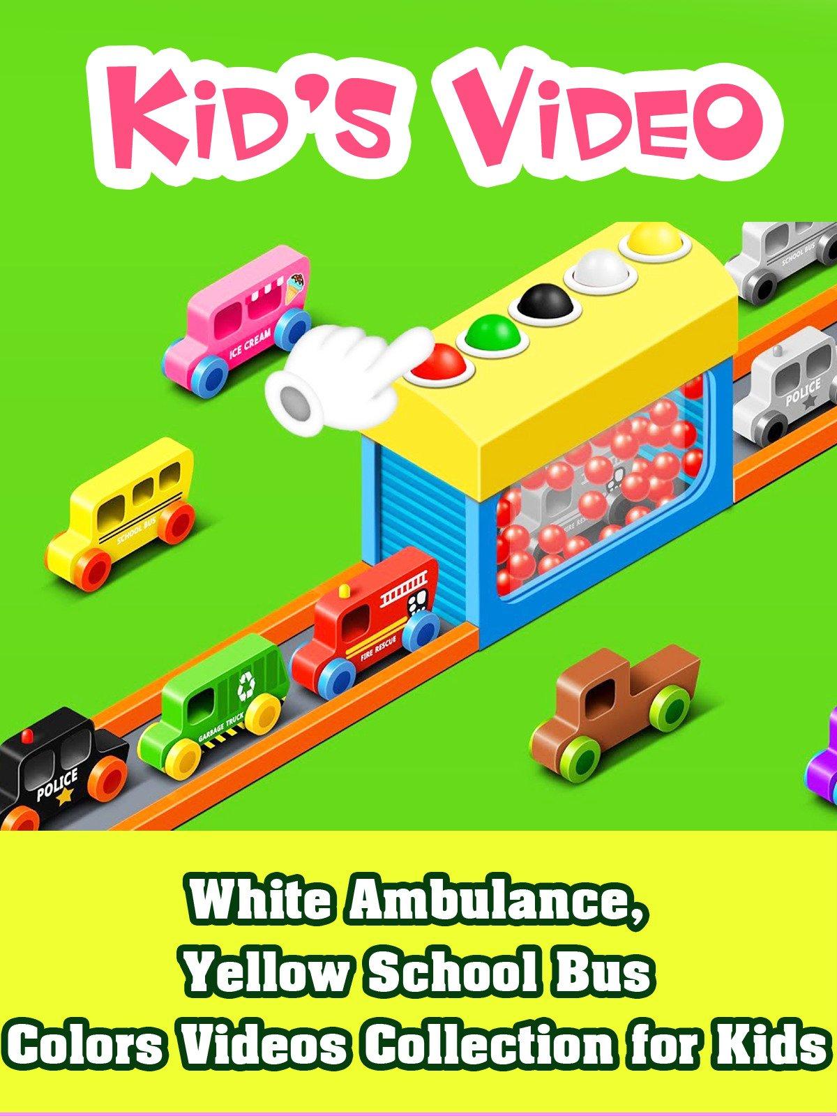 White Ambulance, Yellow School Bus