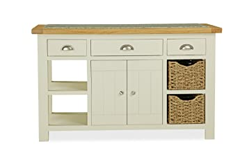 Global Home Products Collection 98 Kitchen Island, Wood, Multi-Colour