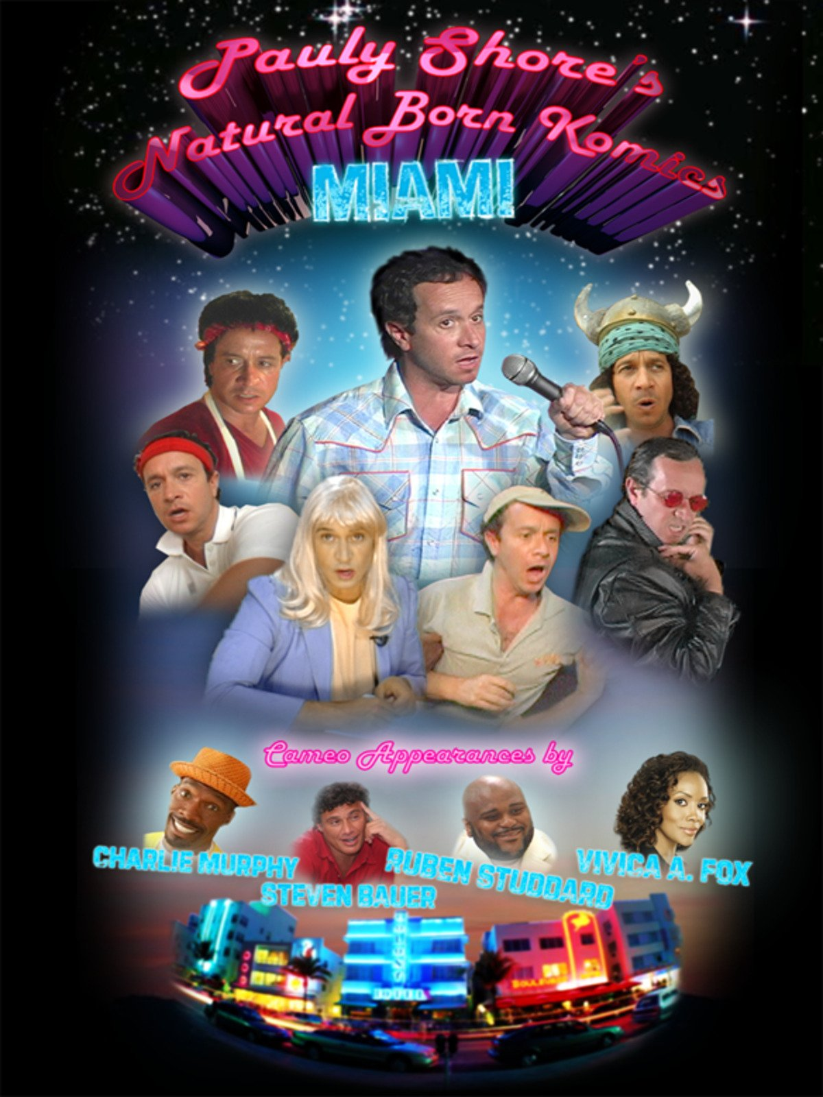 Pauly Shore's Natural Born Komics: Miami