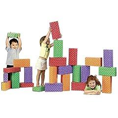 ImagiBricks 24 Giant Rainbow Blocks