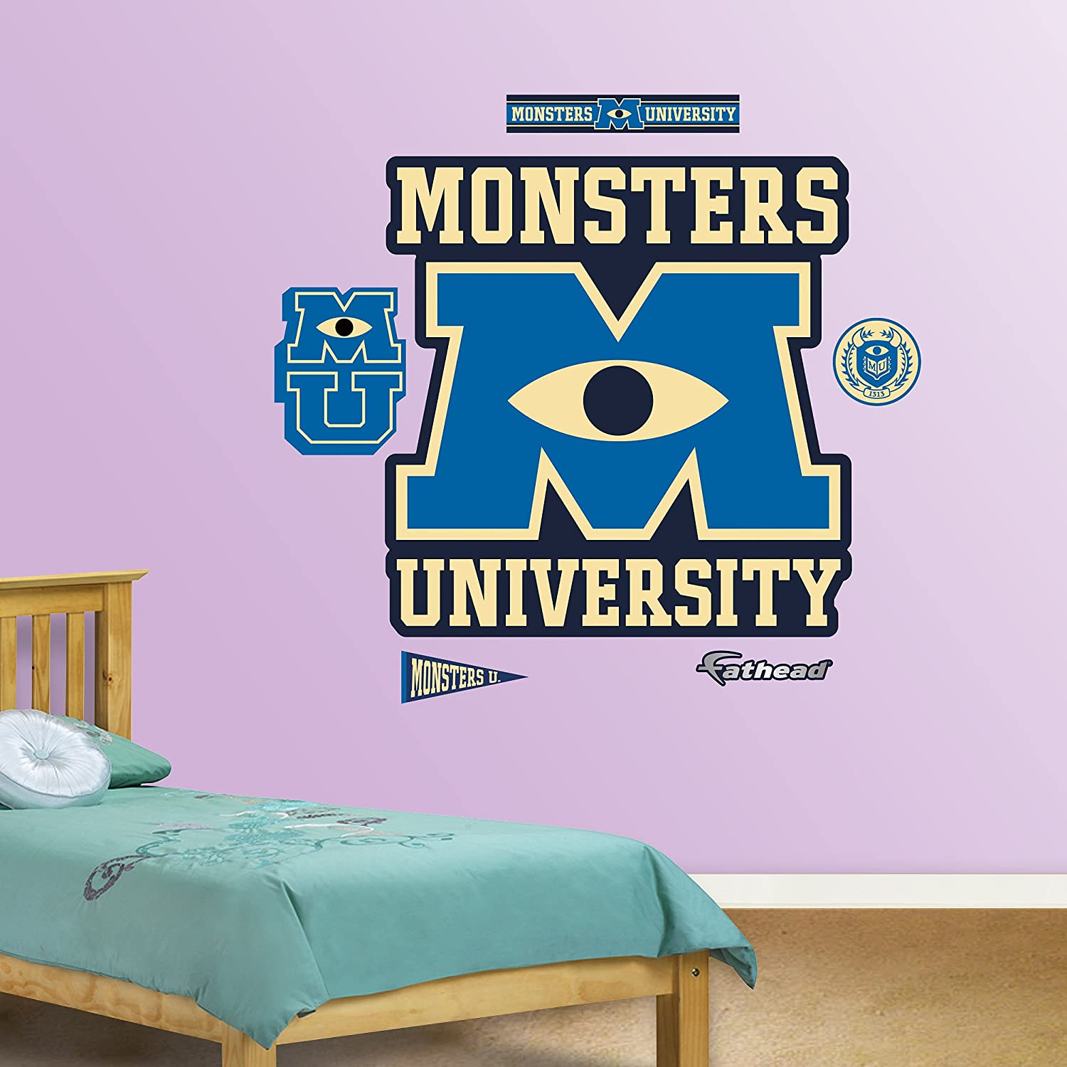 Fathead Monsters University Logo Wall Decor
