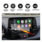 2017 2018 Hyundai Elantra GT Blue Link Touch Screen Car Display Navigation Screen Protector, RUIYA HD Clear TEMPERED GLASS Car In-Dash Screen Protective Film (8-Inch) (Color: 8-Inch, Tamaño: 8-Inch)