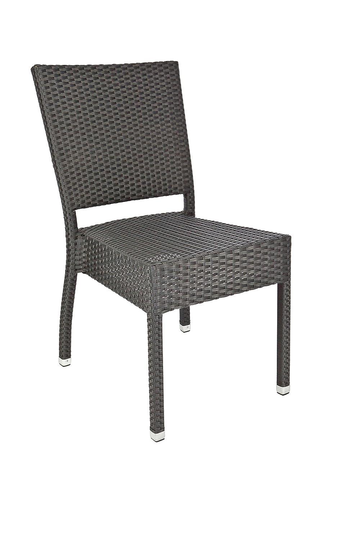 "Stapelstuhl ""Maui"" Gastronomie Möbel Garten Sessel Stuhl Gartenstuhl Lederlook online kaufen"