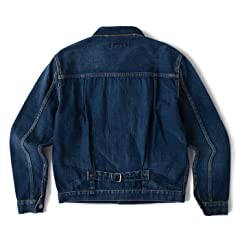 Remi Relief Denim 1st Jacket RN16189018: Blue