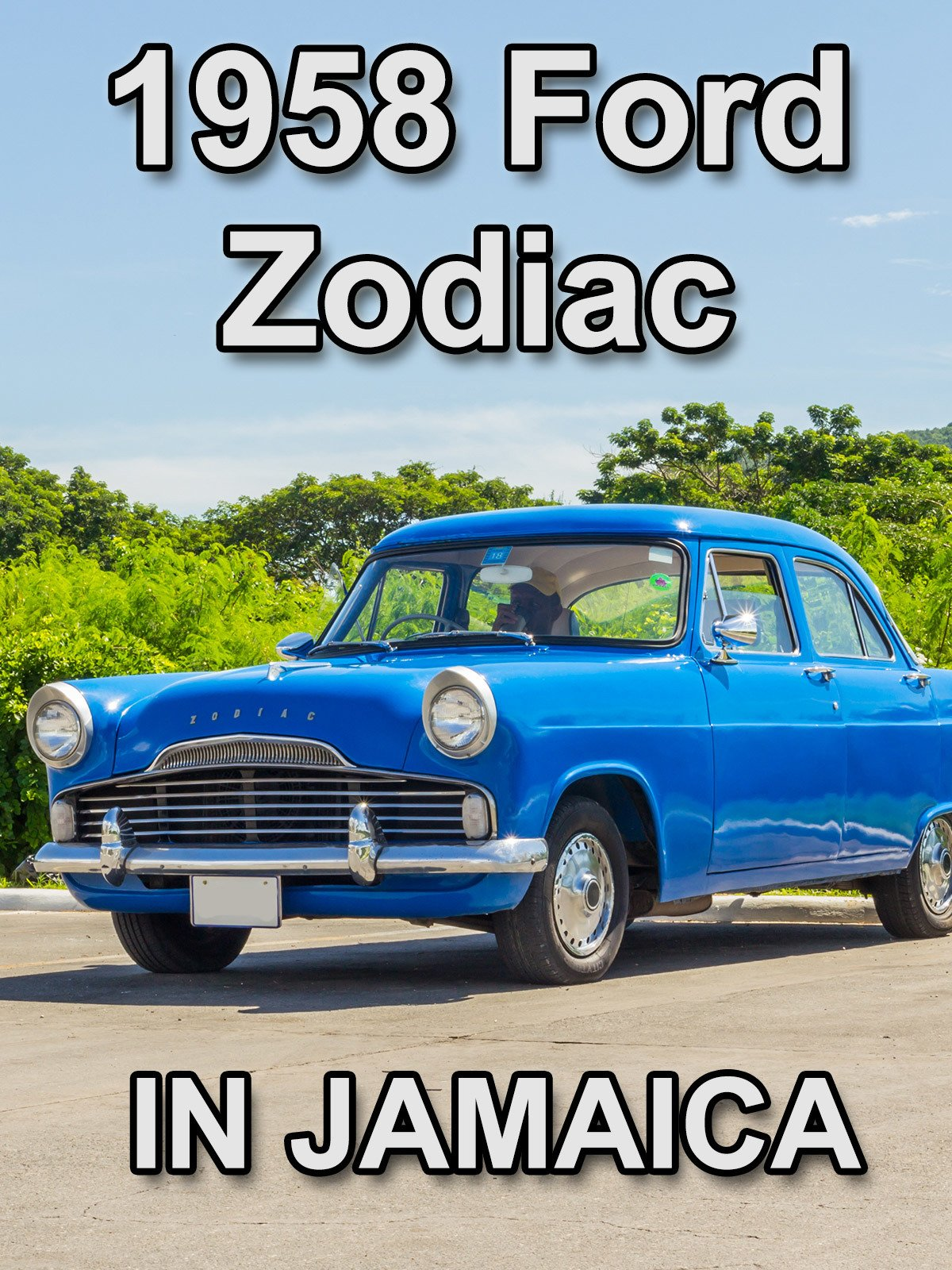Clip: 1958 Ford Zodiac in Jamaica