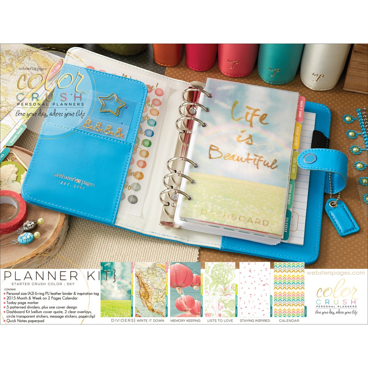 websters pages planner