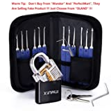 Xinrui Strong Pick and Hook Set,17-Piece(Lock Included)