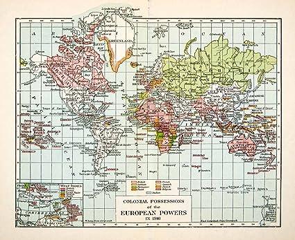 European Map 1936 1936 Print Map World European