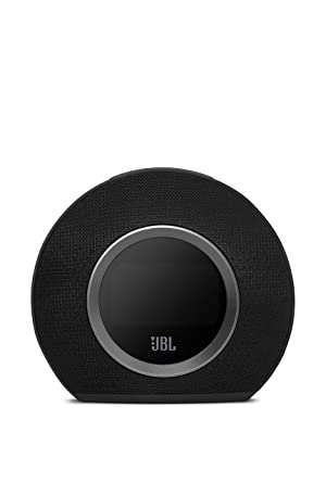 JBL Horizon Bluetooth Clock Radio with Usb Charging and Ambient Light, Black (Color: Black)