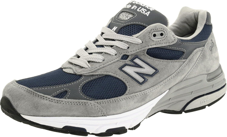 New Balance 993 Grey Navy Blue