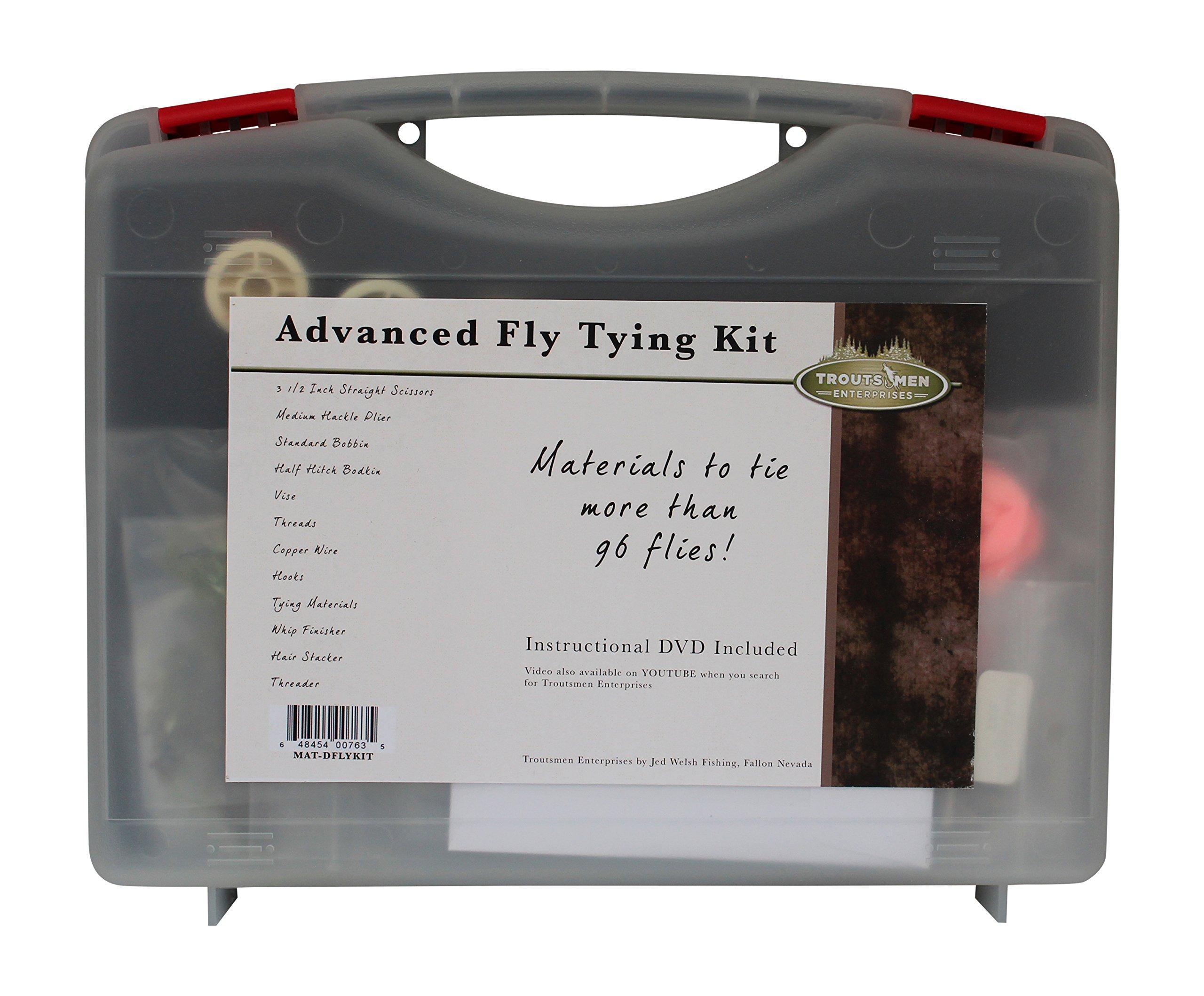 Jed welsh fishing advanced fly tying kit ebay for Fly fishing tying kit