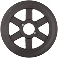 Martin FHP Sheave, MST Bushed, 4L/5L or B Belt Section, 2 Grooves, Class 30 Gray Cast Iron