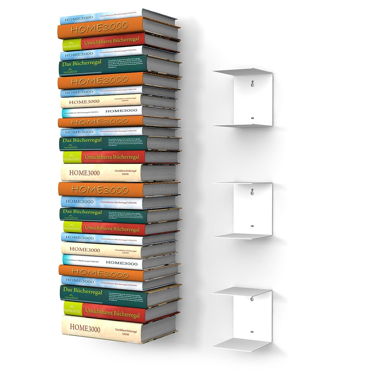 tutoriel fabriquer une tag re de livres invisible. Black Bedroom Furniture Sets. Home Design Ideas