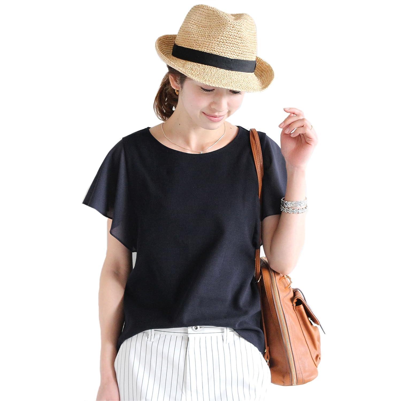 Amazon.co.jp: (ビューティーアンドユースユナイテッドアローズ) BEAUTY&YOUTH UNITED ARROWS BYSF シフォンフレアスリーブカットソー 16172994654 NAVY FREE: 服&ファッション小物通販