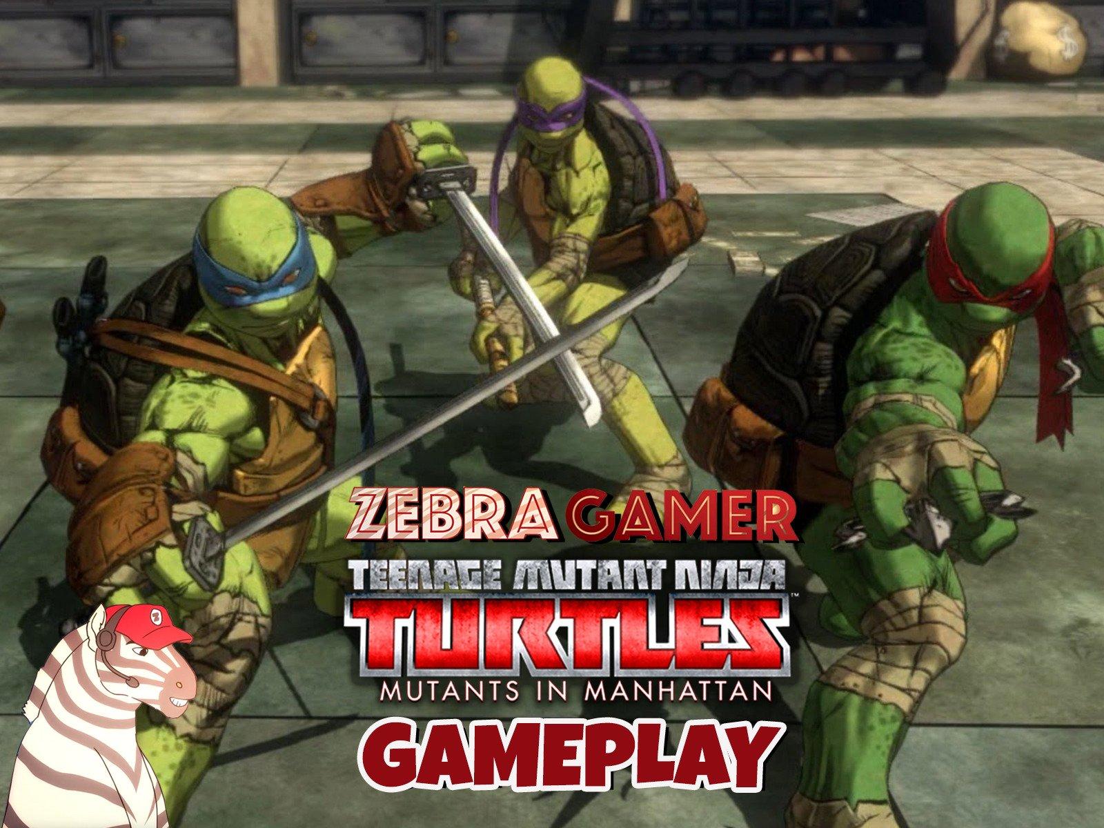 Teenage Mutant Ninja Turtles: Mutants in Manhattan Gameplay - Season 1