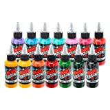 14 Millennium Moms PORTRAIT SET Tattoo Ink 1.5 1/2 oz LOT Mom's (Color: Mixed, Tamaño: 1/2 ounce)