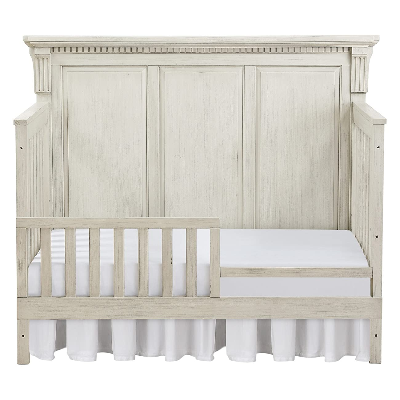 Monbebe Everett 4-in-1 Convertible Crib - Antique 2