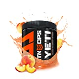 MTN OPS Yeti Monster Pre-Workout Powder Energy Drink 30-Serving Tub, Peach