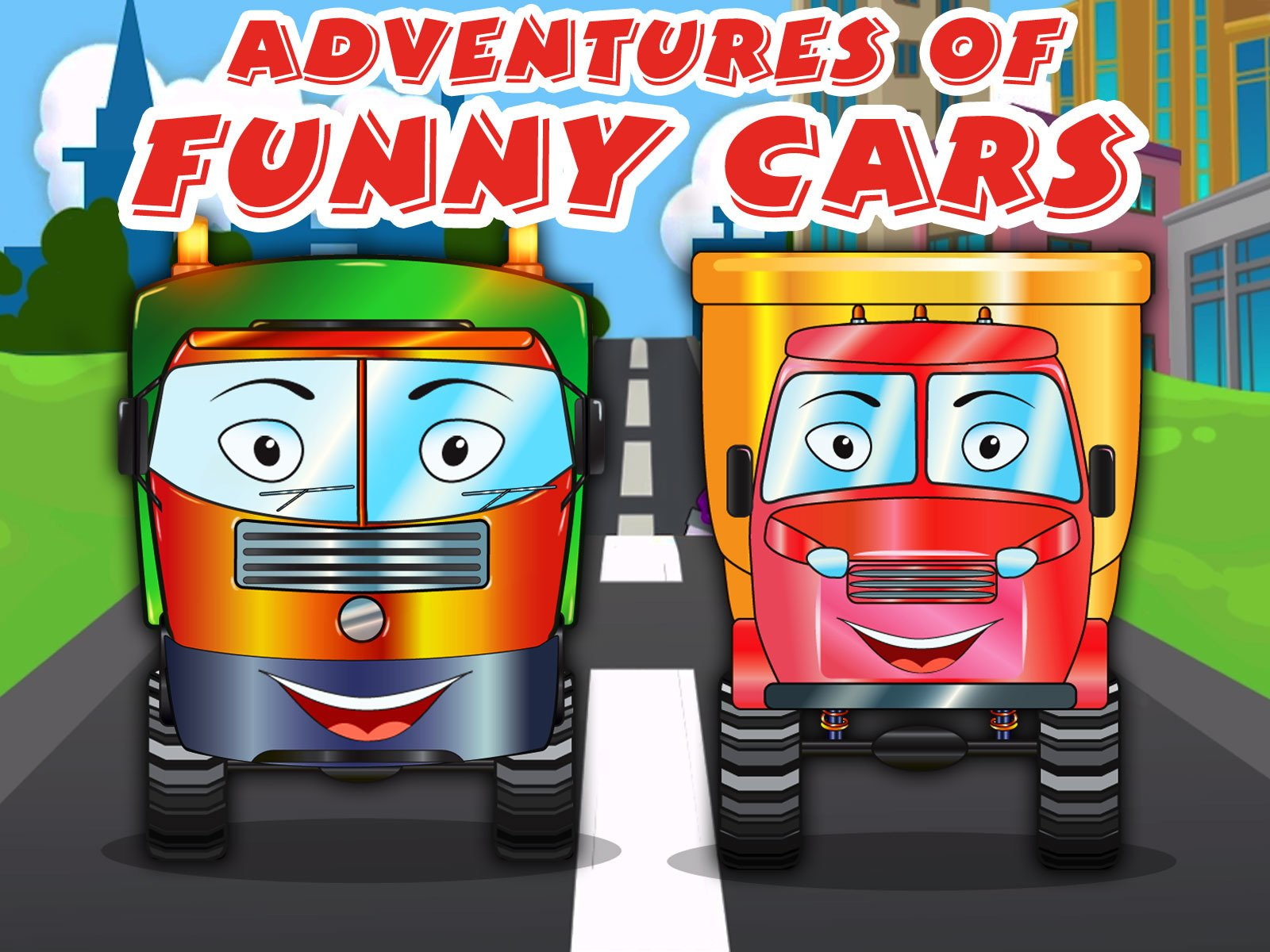 Adventures of Funny Cars - Season 1