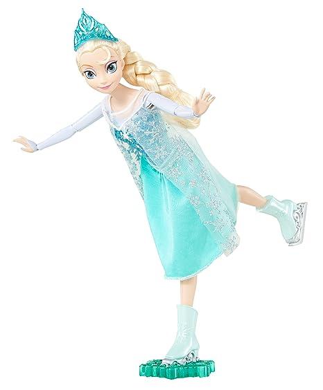Disney Princesses - Reine Des Neiges - Cbc63 - Poupée Mannequin - Princesse Elsa - Reine Du Patinage