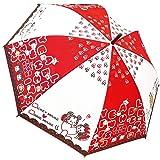 Disney TSUMTSUM Folding Umbrella 53cm Japan Import 90256 (Color: Red)