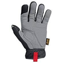 Mechanix Wear H25-05-008 Small Padded Palm Glove, Black, Small