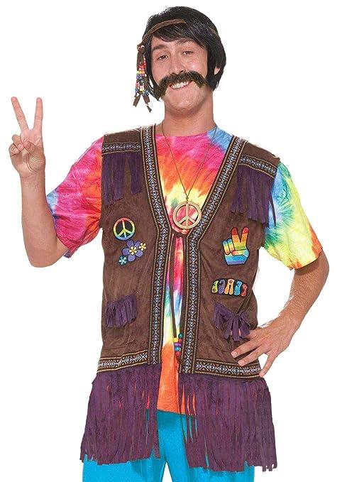forum 60er 70er jahre hippie kost m weste mit fransen f r. Black Bedroom Furniture Sets. Home Design Ideas