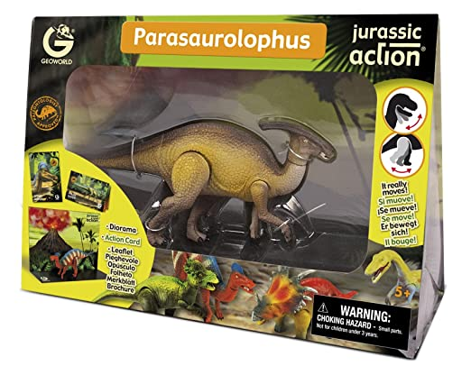 Geoworld - CL242K - Figurine - Jurassic Action - Parasaurolophus - 21 cm