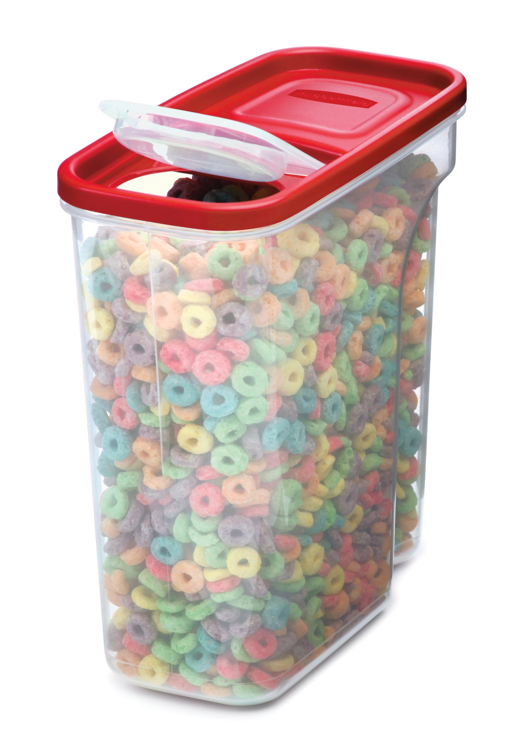 rubbermaid modular cereal food keeper box storage lid