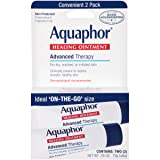 Aquaphor Advanced Therapy Healing Ointment Skin Protectant To Go Pack, 2 - 0.35 Ounce Tubes (Tamaño: 2 Count Package)
