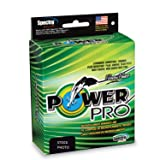 Power Pro Spectra Fiber Braided Fishing Line, Moss Green, 500YD/65LB
