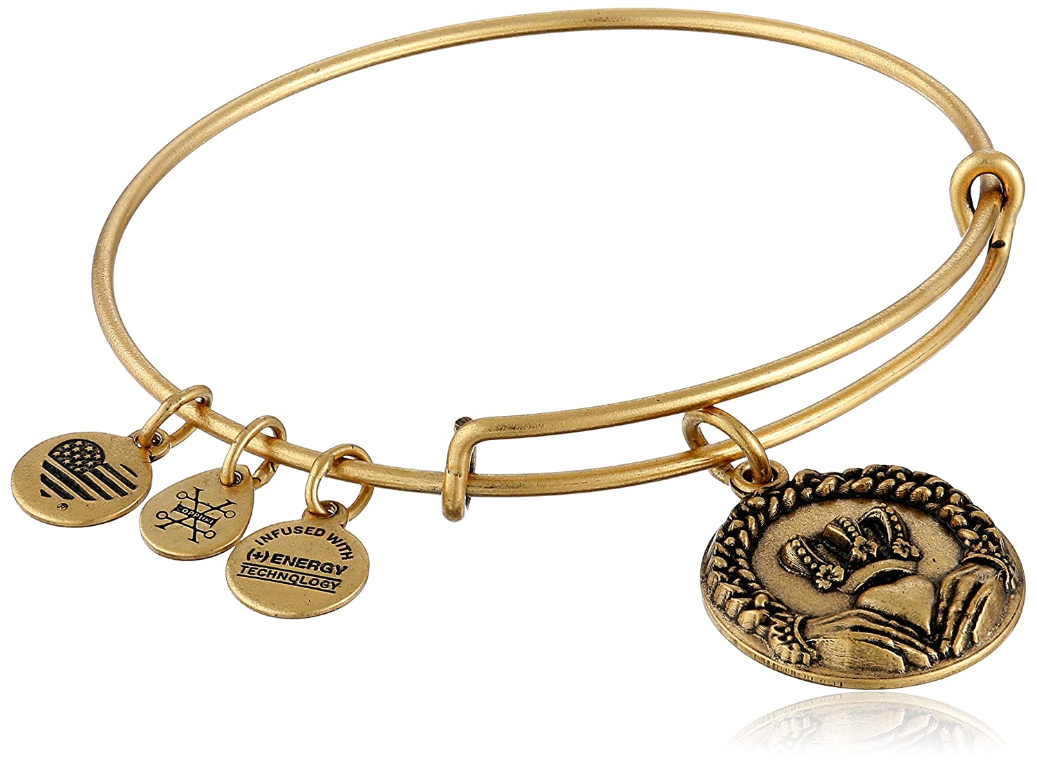 Alex and Ani Cladding II EWB Rafaelian Bangle Bracelet