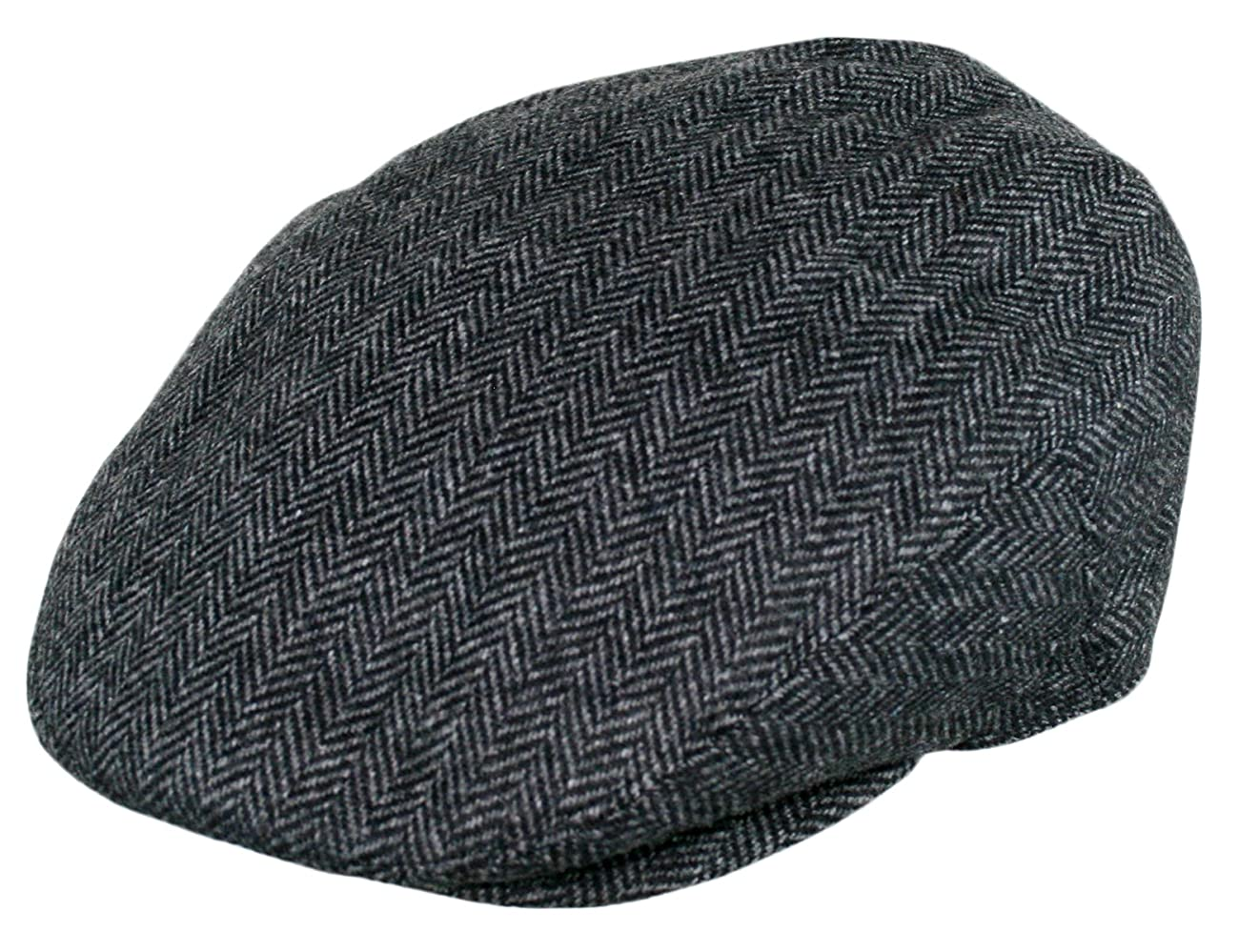 Men's Premium Wool Blend Classic Flat Ivy Newsboy Collection Hat 0